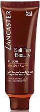 Profumi e cosmetici Autoabbronzante viso, tono leggero - Lancaster Self Tanning Smoothing Gel For Face (Week End in Capri)