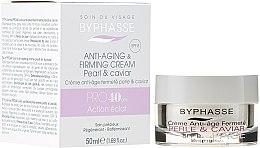 Profumi e cosmetici Crema anti-età - Byphasse Anti-aging Cream Pro40 Years Pearl And Caviar
