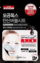 Profumi e cosmetici Maschera a bolle - Mediheal Mogongtox Soda Bubble Sheet