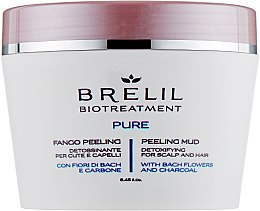 Profumi e cosmetici Peeling detergente al fango per capelli - Brelil Bio Traitement Pure Peeling Mud