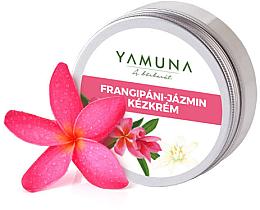 "Profumi e cosmetici Crema mani ""Frangipan-Gelsomino"" - Yamuna Frangipani-Jasmine Hand Cream"