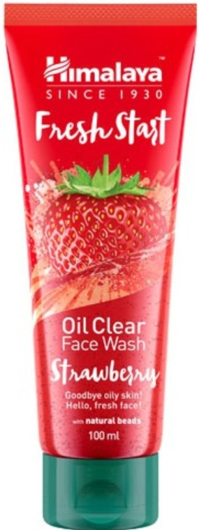 "Gel detergente viso ""Fragola"" - Himalaya Herbals Fresh Start Oil Clear Face Wash Strawberry"