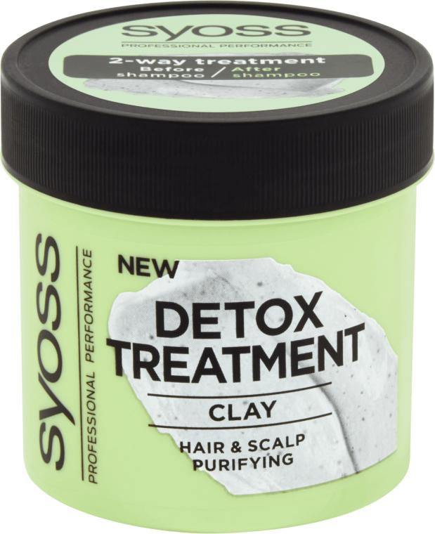 Maschera capelli disintossicante all'argilla - Syoss Detox Treatment Clay