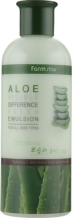 Emulsione rinfrescante con aloe - FarmStay Visible Difference Fresh Emulsion Aloe