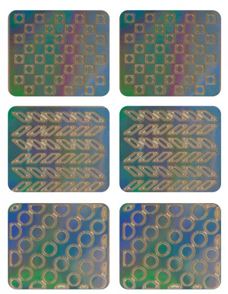 Adesivi per nail design, 3707 - Neess Patternness — foto N1
