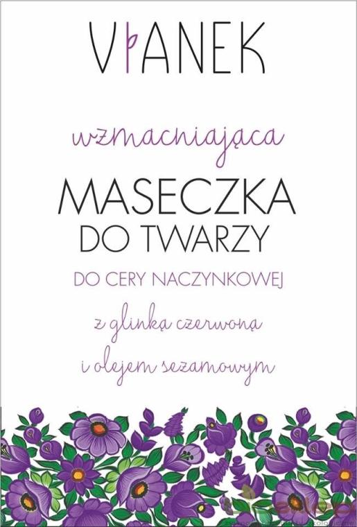 Maschera viso rinforzante - Vianek