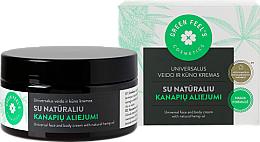 Profumi e cosmetici Crema universale per viso e corpo con olio naturale di canapa - Green Feel's Universal Face And Body Cream