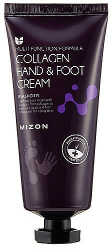 Crema mani e piedi al collagene - Mizon Collagen Hand And Foot Cream