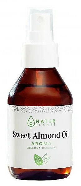 Olio di mandorle dolci al gusto di tè verde - Natur Planet Sweet Almond Oil Aroma Green Tea
