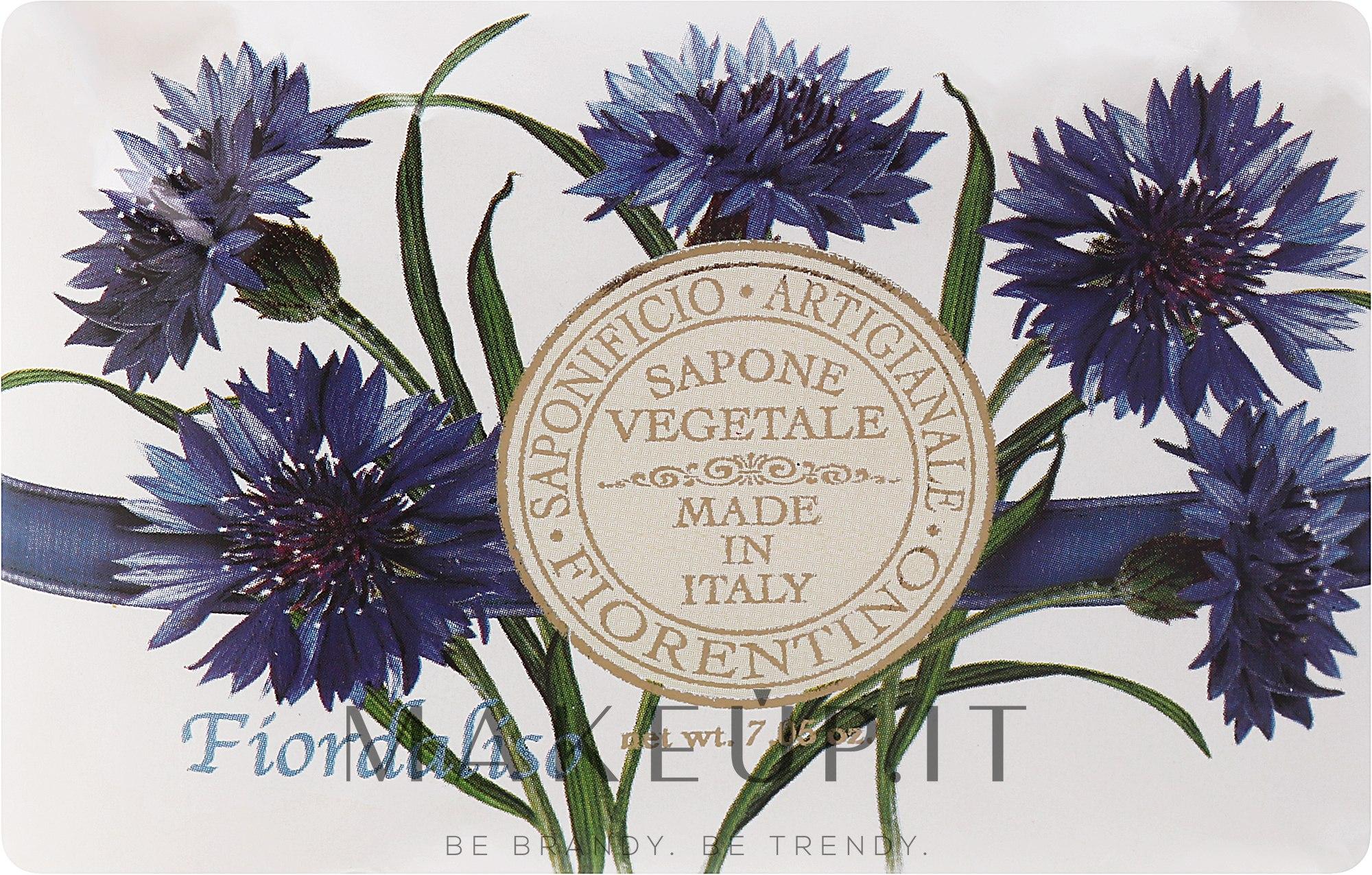 """Sapone Artigianale """"Fiordaliso"""" - Saponificio Artigianale Fiorentino Cornflower — foto 200 g"""