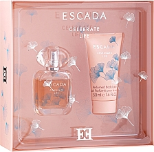 Profumi e cosmetici Escada Celebrate Life - Set (edp/30ml + b/lot/50ml)