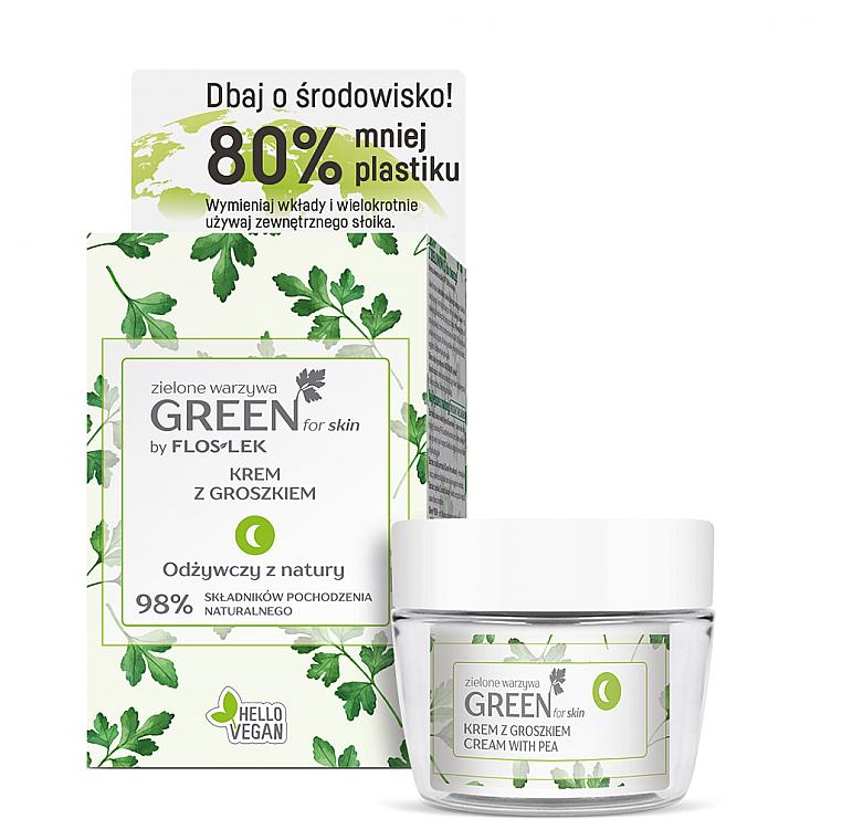 Set - Floslek Green For Skin (f/cr/50ml + jar)