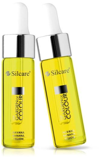 Olio per unghie e cuticole con contagocce - Silcare Garden of Colour Cuticle Oil Havana Banana Yellow