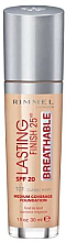 Profumi e cosmetici Fondotinta - Rimmel Lasting Finish 25HR Breathable Foundation SPF 20