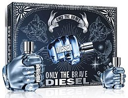Profumi e cosmetici Diesel Only The Brave - Set (edt/125ml + edt/35ml)