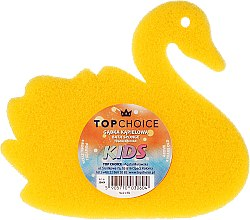 Profumi e cosmetici Spugna da bagno 30604, gialla - Top Choice Bath Sponge Kids