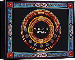 Profumi e cosmetici Versace Pour Femme Dylan Blue - Set (edp/50ml + b/l/50ml + s/g/50ml)
