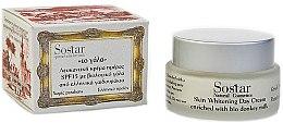 Profumi e cosmetici Crema sbiancante da giorno - Sostar Skin Whitening Day Cream SPF15 Enriched With Bio Donkey Milk