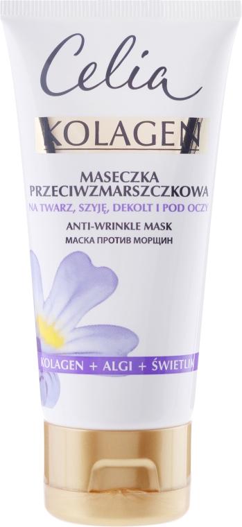 Maschera viso antirughe - Celia Collagen Mask — foto N1