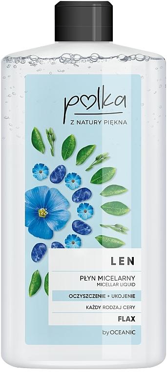 Acqua micellare di semi di lino - Polka Micellar Water
