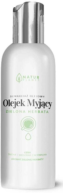 Olio detergente viso - Natur Planet Washing Oil Green Tea