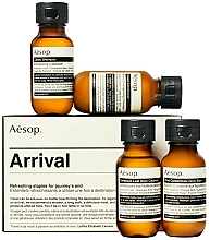 Profumi e cosmetici Set - Aesop Arrival Travel Kit (shm/50ml + cond/50ml + sh/gel/50ml + balm/50ml)
