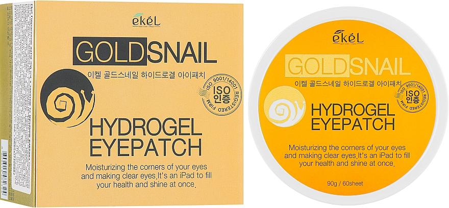 Patch occhi in idrogel con oro e bava di lumaca - Ekel Ample Hydrogel Eyepatch