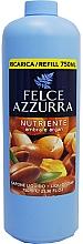 Profumi e cosmetici Sapone liquido - Felce Azzurra Nutriente Amber & Argan ( unità sostituibile)