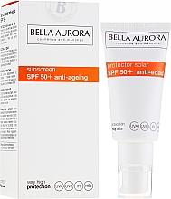 Profumi e cosmetici Crema solare - Bella Aurora Solar Protector Anti-Age SPF50+
