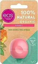 Profumi e cosmetici Balsamo labbra al miele - EOS 100% Natural Organic Honey Lip Balm