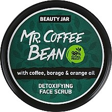 "Profumi e cosmetici Scrub viso disintossicante ""Mr. Coffee Bean"" - Beauty Jar Detoxifying Face Scrub"