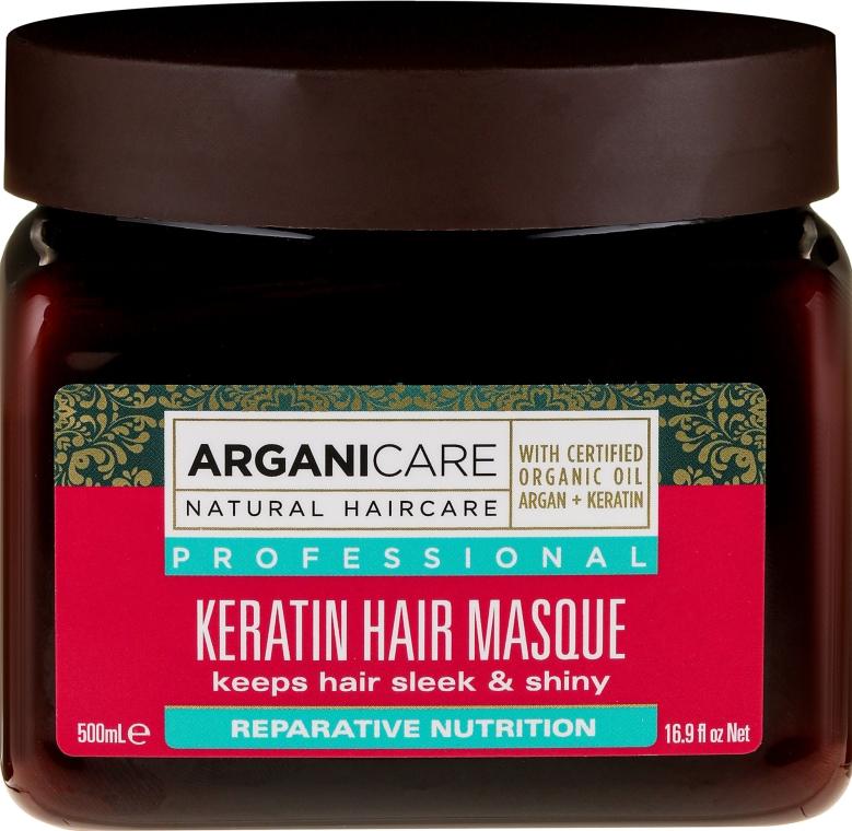 Maschera alla cheratina per tutti i tipi di capelli - Arganicare Keratin Nourishing Hair Masque