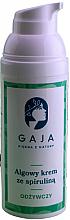 Profumi e cosmetici Crema viso nutriente alla spirulina - Gaja