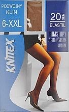 "Profumi e cosmetici Collant da donna ""Elastil"" 20 Den, Beige - Knittex"