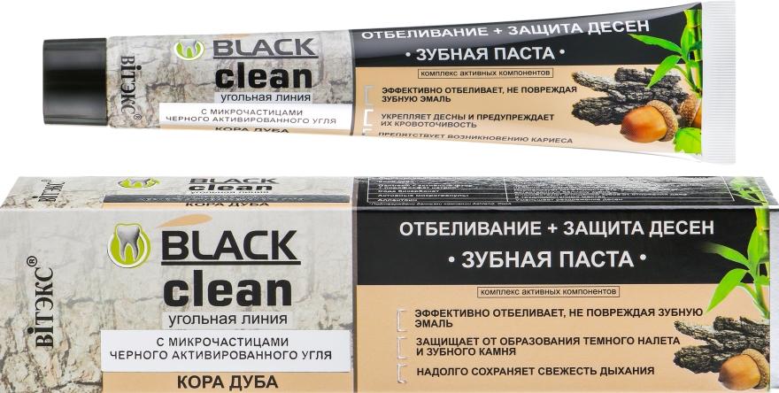 """Dentifricio """"Sbiancamento + Protezione delle gengive"""" - Vitex Black Clean"""