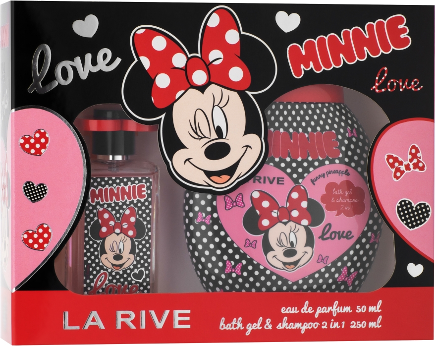 La Rive Minnie - Set (edp/50ml+sh/gel/shm/250ml)