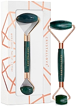 Profumi e cosmetici Massaggiatore viso - Crystallove Aventurine Roller