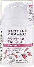 Profumi e cosmetici Crema nutriente per pelli normali - Bentley Organic Skin Blosso Nourishing Face Cream