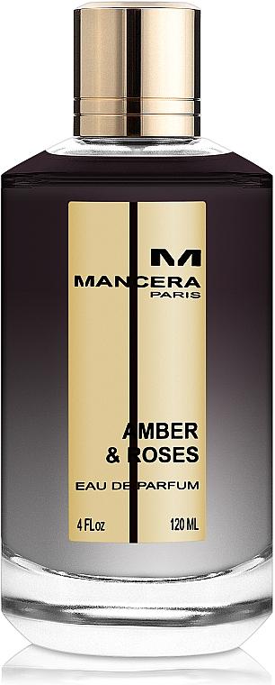 Mancera Amber & Roses - Eau de Parfum