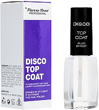 Profumi e cosmetici Finitura fluorescente - Pierre Rene Disco Top Coat Fluo Effect
