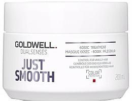 Profumi e cosmetici Cura intensiva per capelli ribelli - Goldwell Dualsenses Just Smooth 60sec Treatment