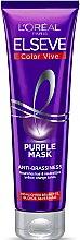 Profumi e cosmetici Maschera tonificante per capelli decolorati o con mèches - L'Oreal Paris Elseve Purple