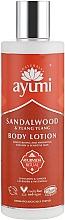 "Profumi e cosmetici Crema corpo ""Sandalo e Ylang-Ylang"" - Ayumi Sandalwood & Ylang Ylang Body Lotion"