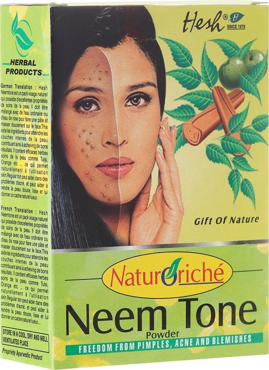 Maschera per pelle problematica - Hesh Neem Tone Powder