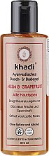 "Profumi e cosmetici Gel doccia e bagno ""Neem-pompelmo"" - Khadi Bath & Body Wash Neem & Grapefruit"