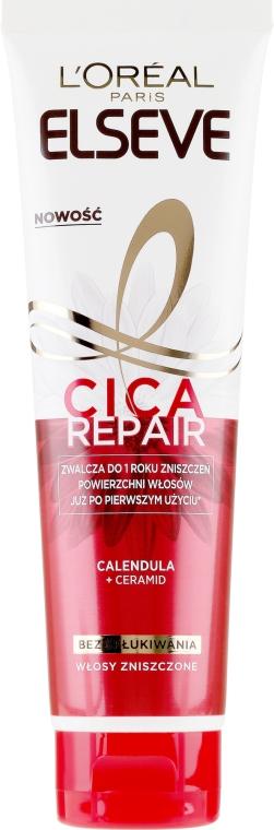 Balsamo senza risciacquo per capelli danneggiati - L'Oreal Paris Elseve Total Repair 5 Cica Repair