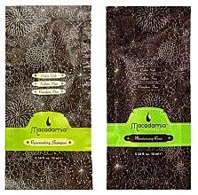 Profumi e cosmetici Set - Macadamia Natural Oil (sh/10ml + cond/10ml)