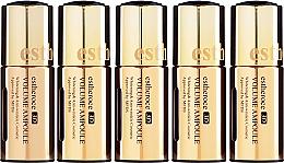 """Profumi e cosmetici Set di sieri viso """"Rinnovamento cellulare della pelle"""" - Deoproce Serum 3D Ampoule (Serum 18mlx5)"""