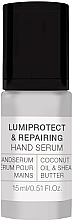 Profumi e cosmetici Siero mani - Alessandro International Spa Lumiprotect & Repairing Hand Serum