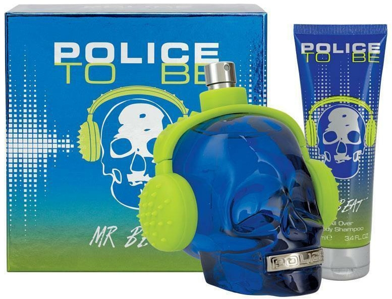 Police To Be Mr Beat - Set (edt/75ml + sh/gel/100ml)